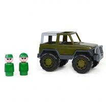Polesie Leger Jeep met Passagiers